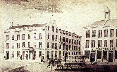 Hamilton in the Early 1850s