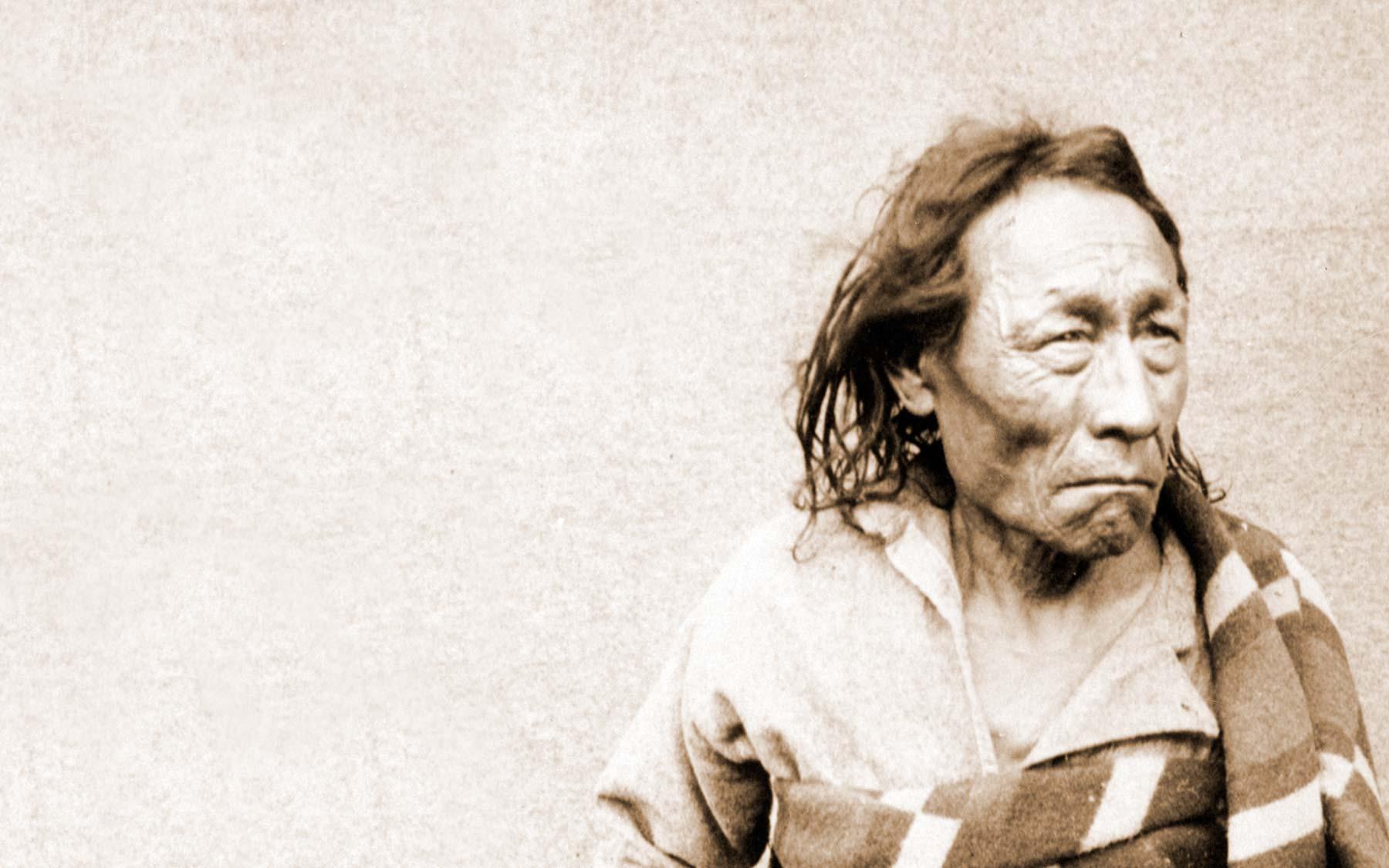 Mistahimaskwa (Big Bear), a Plains Cree Chief, 1885.