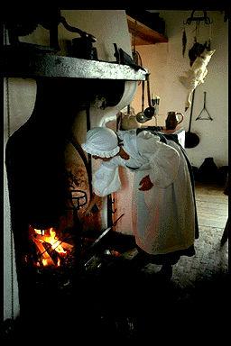 Louisbourg Kitchen Fireplace