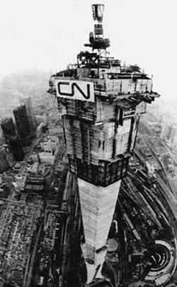 CN Tower Under Construction