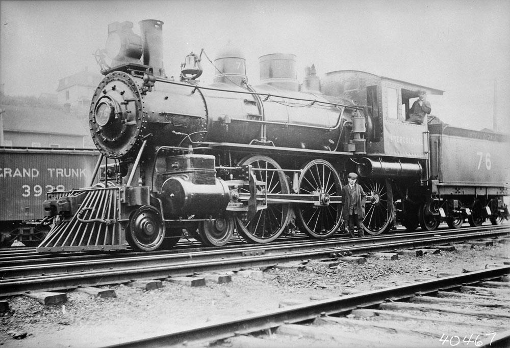 Intercolonial Locomotive No. 76