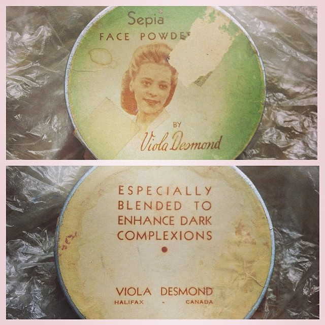 Viola Desmond Powder Compact