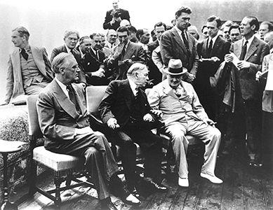 Québec Conference, 1943