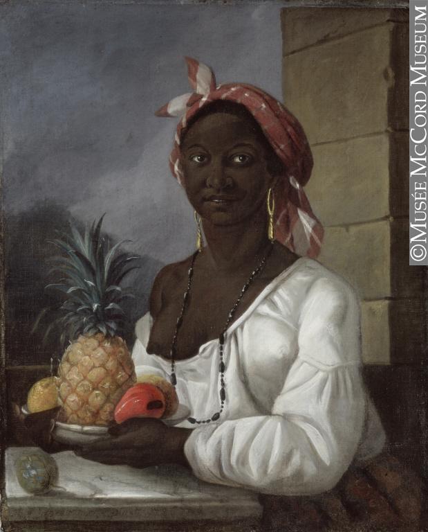 François Malépart de Beaucourt, Portrait of a Haitian woman, 1786.