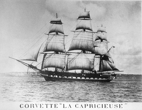 La Capricieuse, 1855
