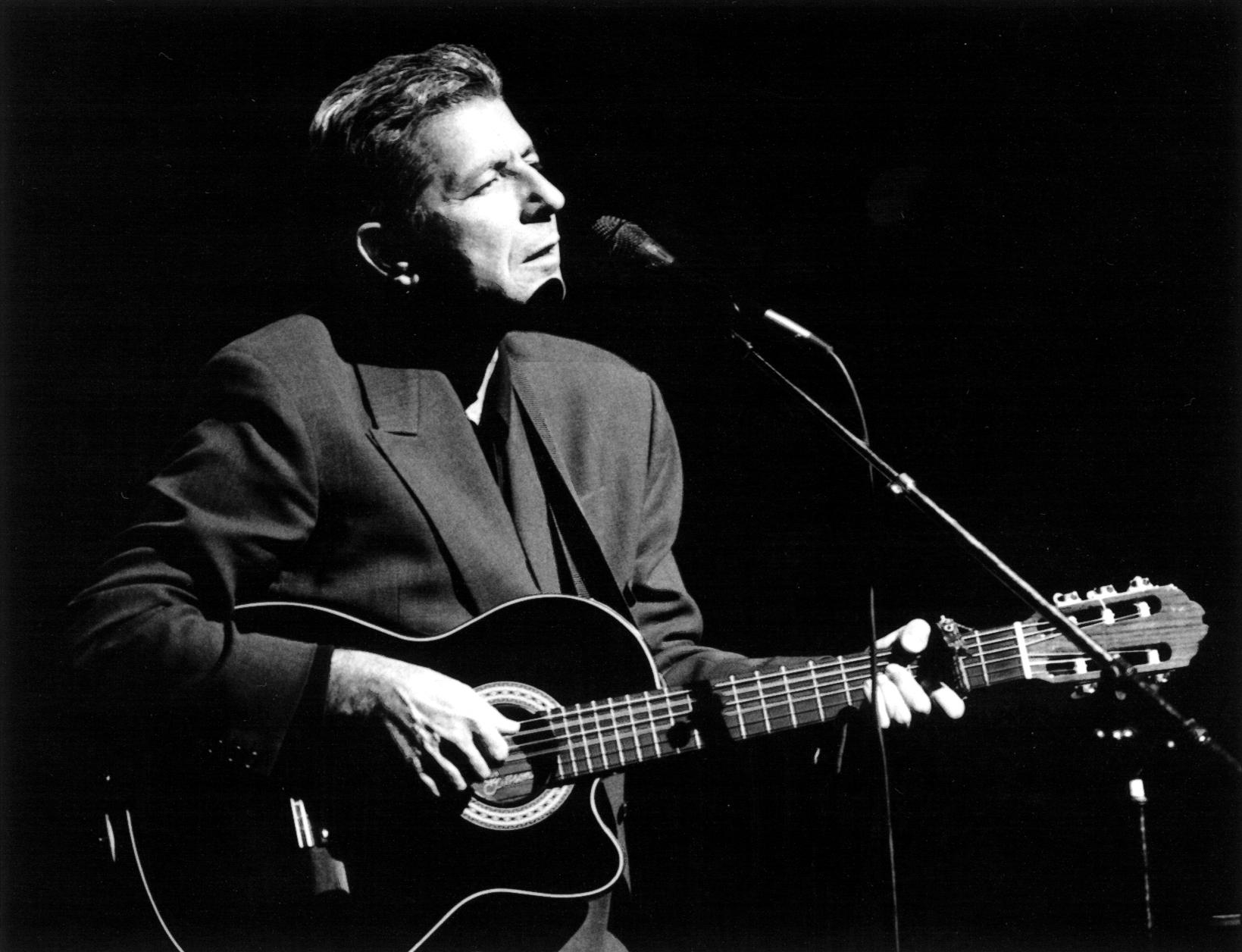 Leonard Cohen, musician