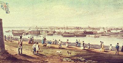Kingston, en 1828