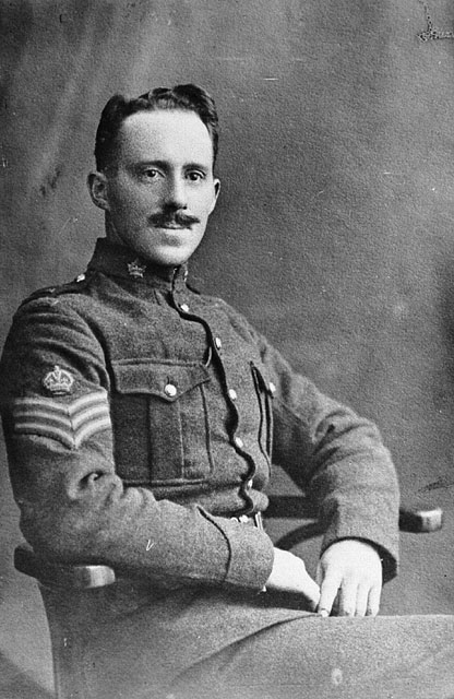 Sergeant-Major Fred Hall