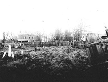 Victoria Cemetery in Disrepair