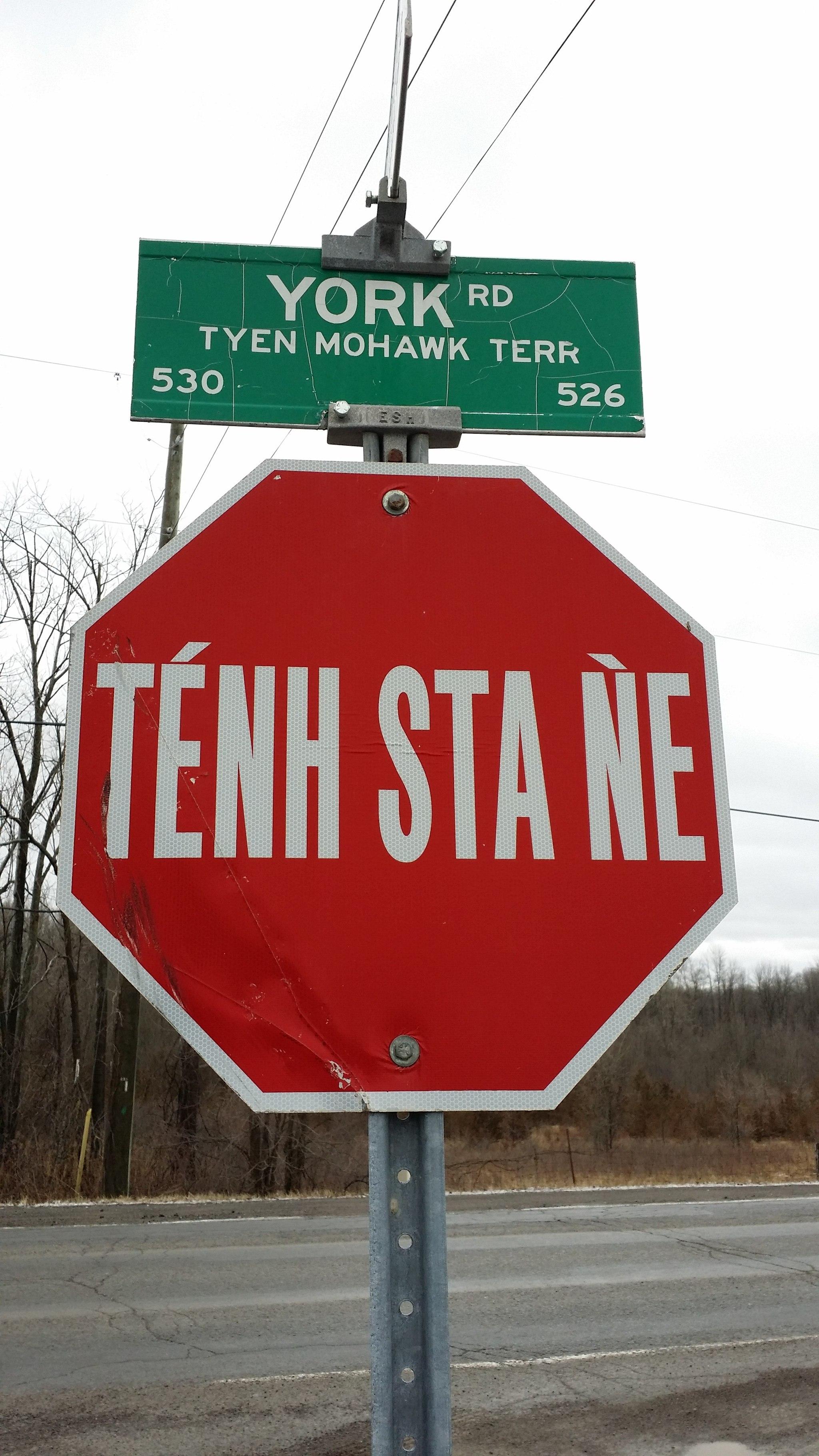 Mohawk Language