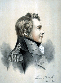 Isaac Brock, military hero