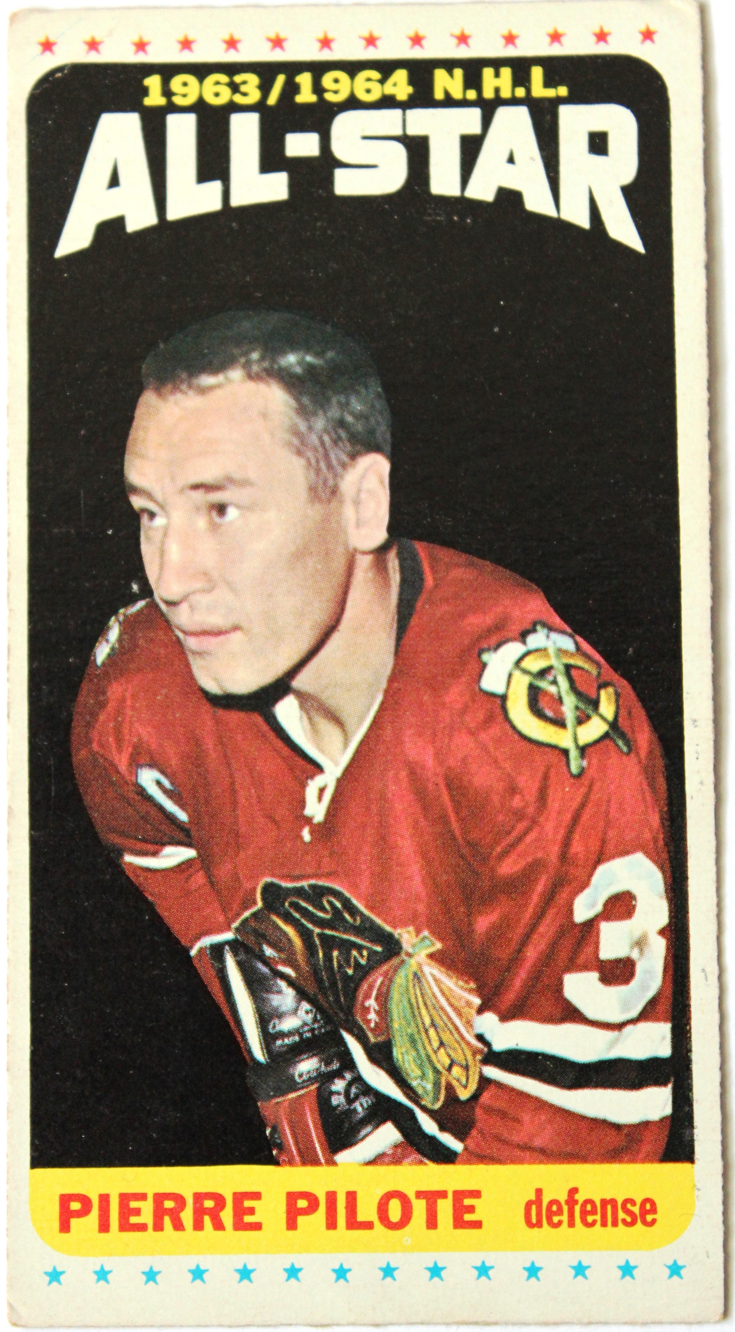 Pierre Pilote Hockey Card