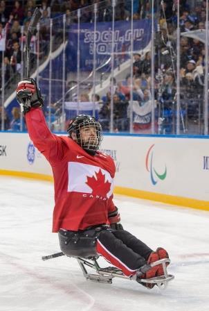 Billy Bridges, hockey sur luge, Jeux paralympiques d