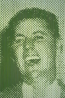 Large Green Laughing Man