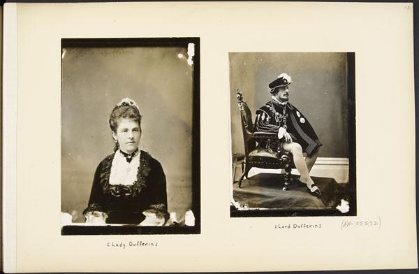 Lady Dufferin et Lord Dufferin