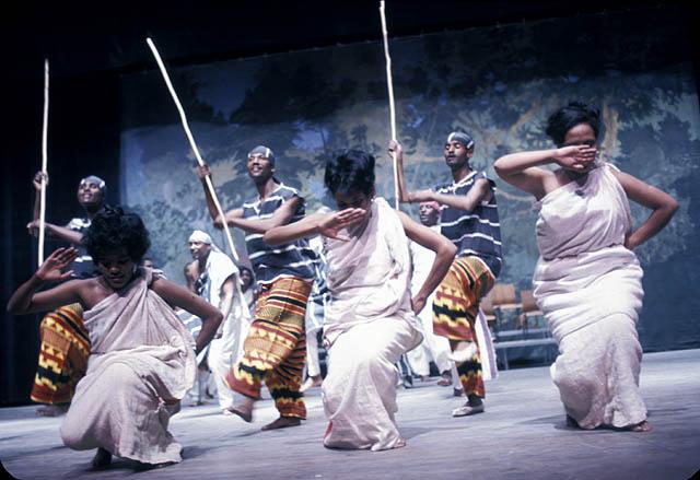 Ethiopian dancers performing at Expo