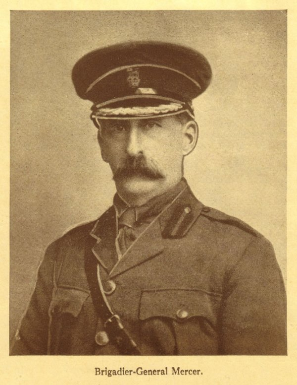 Le brigadier Malcolm Mercer