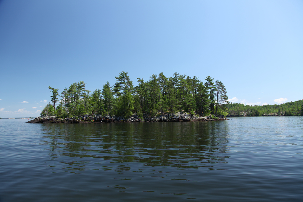 Island on Lake Nipissing