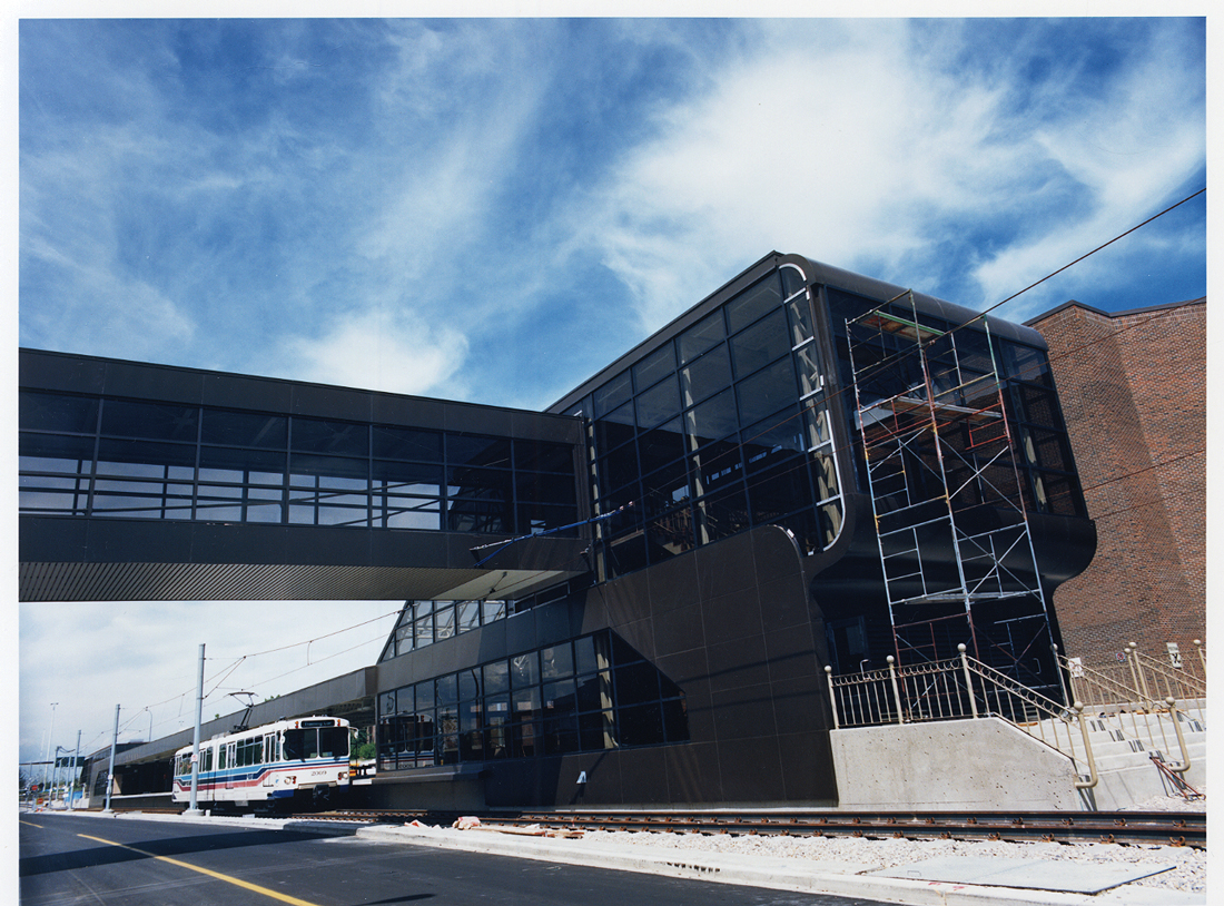 The CTrain SAIT/ACA/Jubilee Station, Calgary