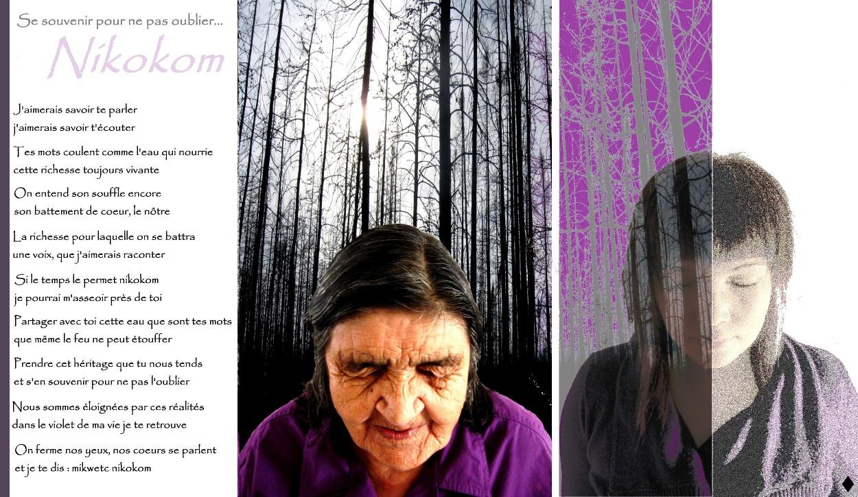 Sonia Basile-Martel, Se souvenir pour ne pas oublier, Nikokom, 2011.