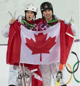 Kingsbury and Bilodeau, Sochi 2014