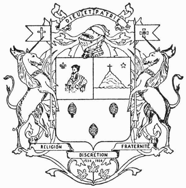 Armoiries de l'Ordre de Jacques-Cartier
