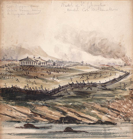 The Battle of St. Charles