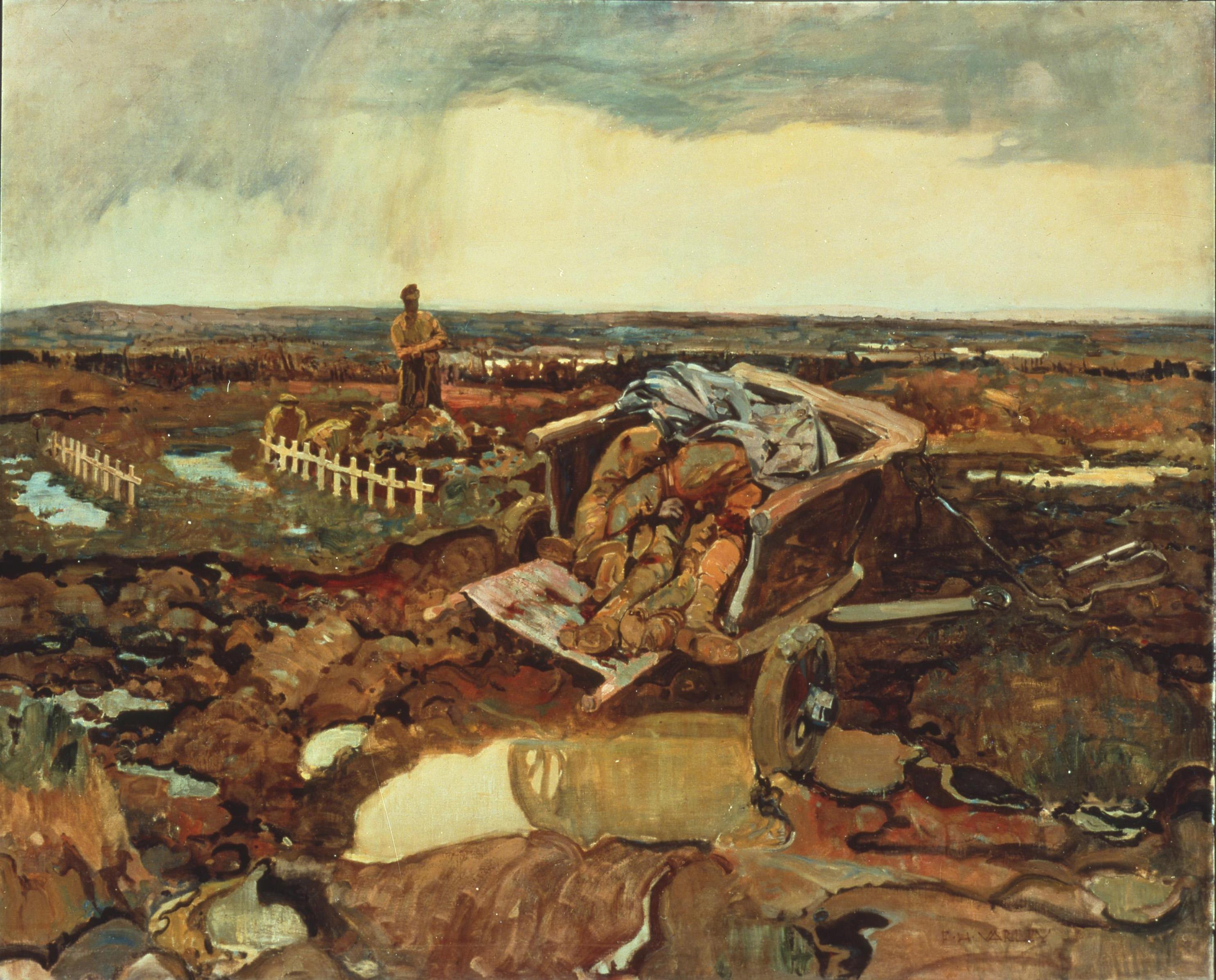 Fredrick Varley, Pour quoi?, 1917-1919.