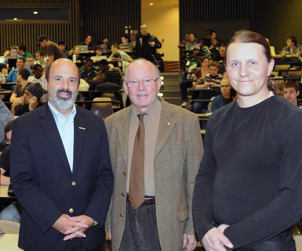 Bernard Landry UQTR lecture