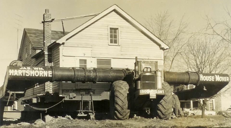 House on Hartshorne Moving Company Machine