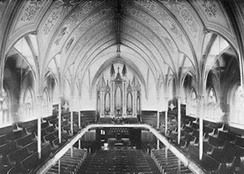 Metropolitan Methodist Church, Original Interior