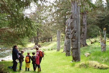 Totem Poles, SGang Gwaay