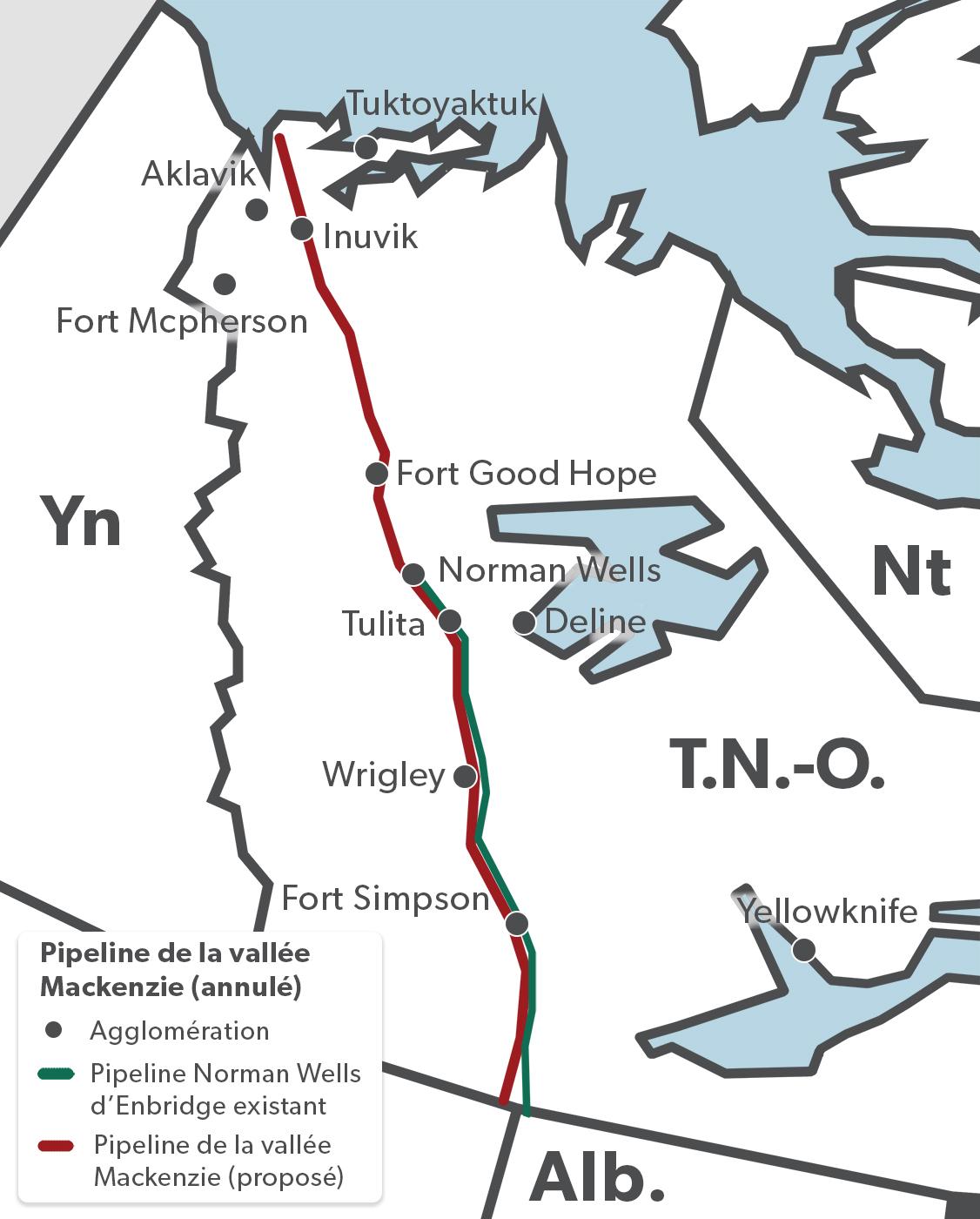 Pipeline de la vallée Mackenzie (partie du Projet gazier Mackenzie annulé)