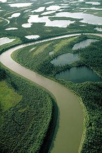 Mackenzie River at Fort Good Hope, NT