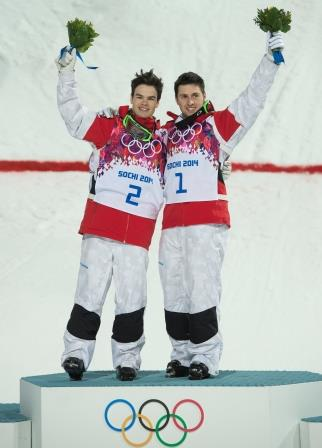 Kingsbury et Bilodeau, Sochi 2014