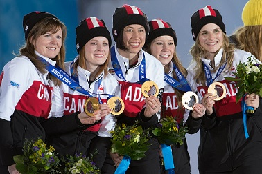 Women's Curling Team 2014