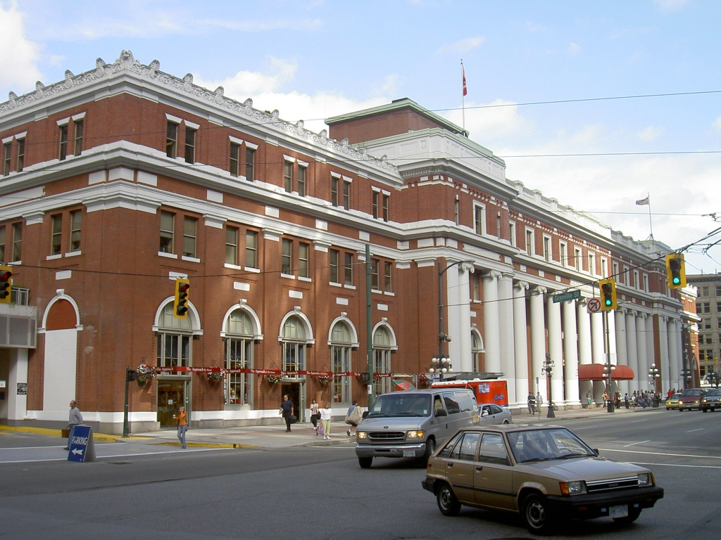 Waterfront Station, Vancouver SkyTrain, 2006
