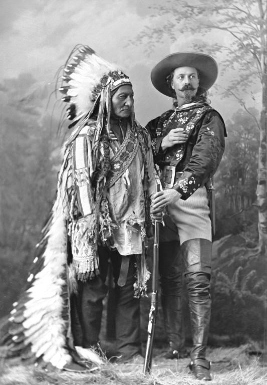 Sitting Bull et Buffalo Bill