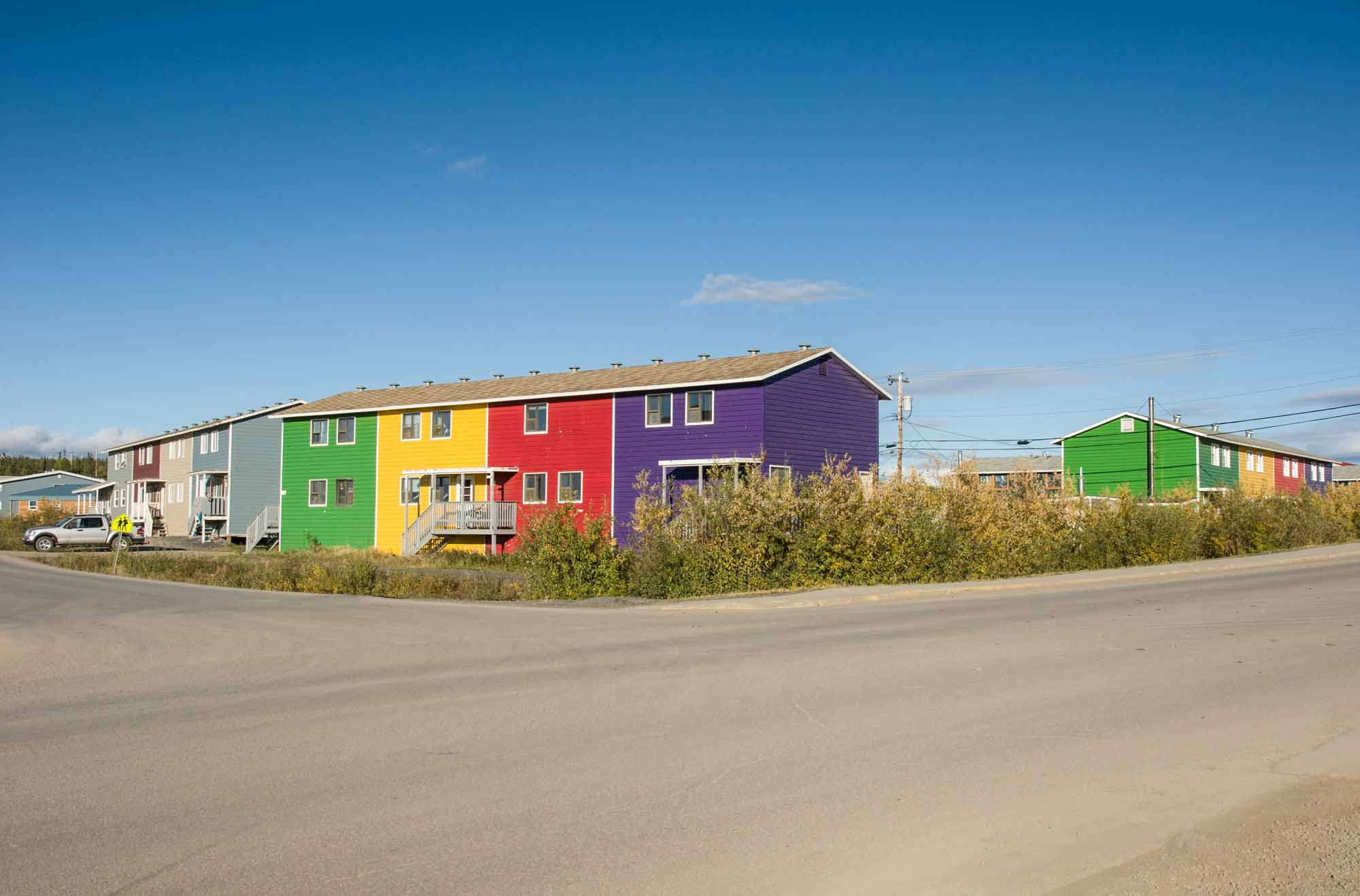 Colourful Inuvik apartments