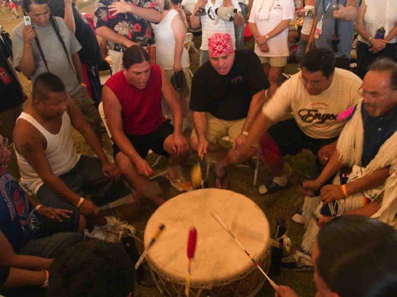 Powwow Drum Group, 2007
