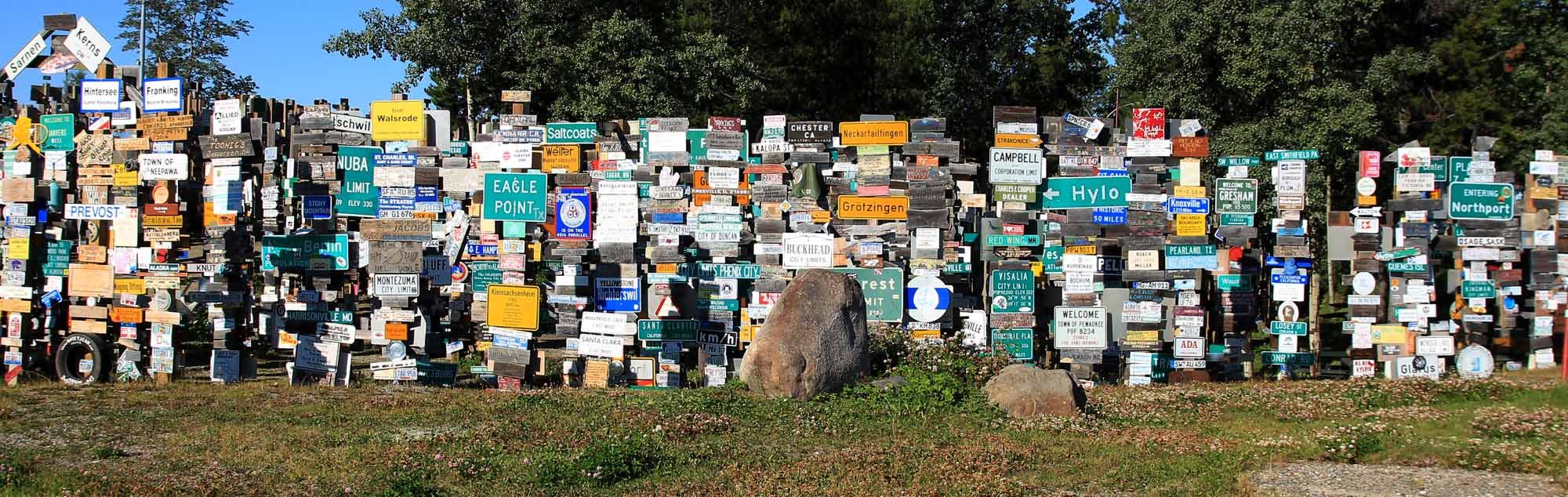 The Sign Post Forest