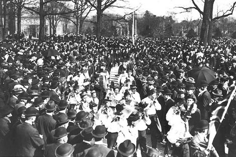 Orange Order Parade, c 1912