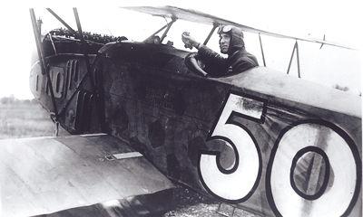 Colonel William Barker, pilote