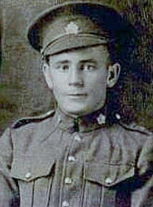 Private Frank Thorsteinson.