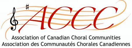 Association of Canadian Choral Communities logo