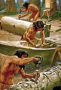 Oeuvres en bois de la côte du Nord-Ouest
