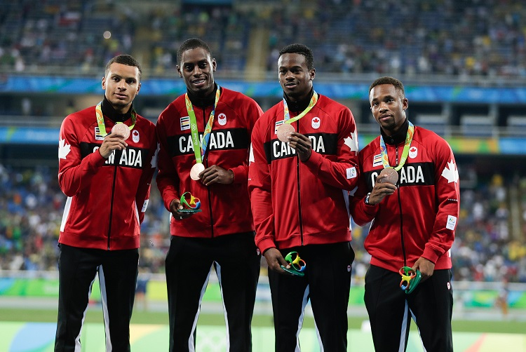 Men's Relay Team, 2016 Olympic Games