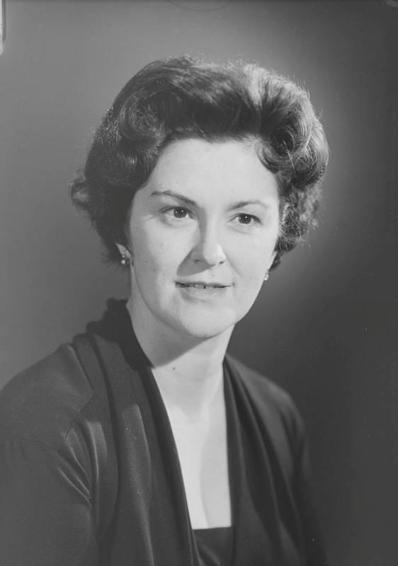 Marie-Claire Kirkland-Casgrain, 1961.