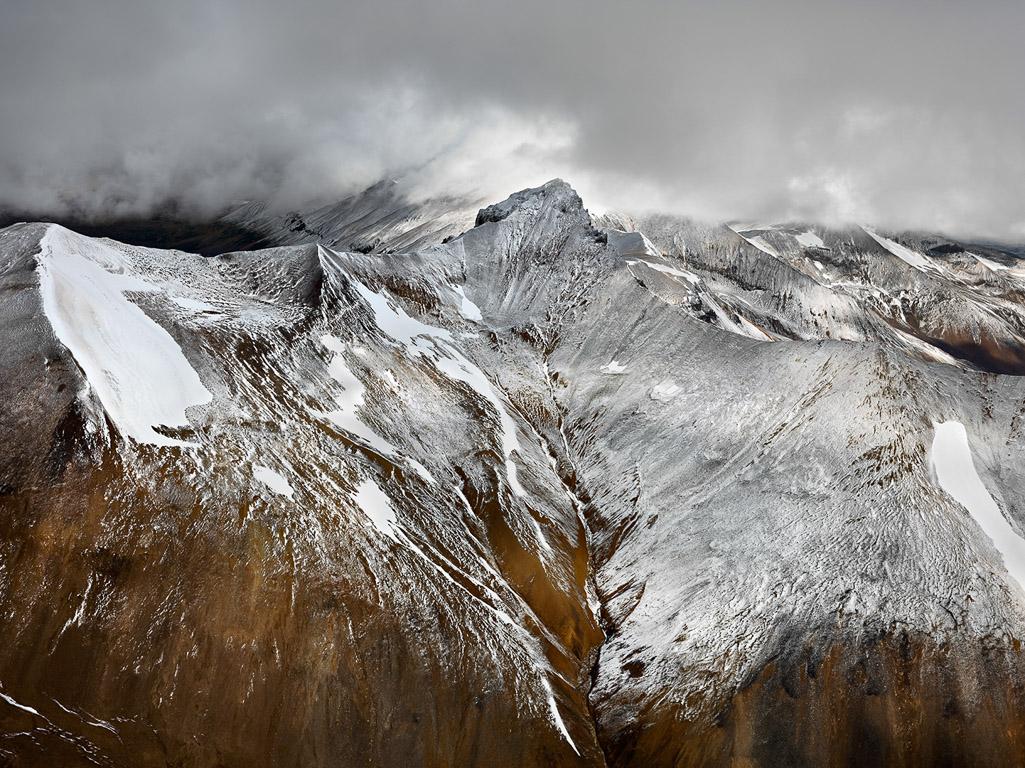 Edward Burtynsky, Mount Edziza Provincial Park #1, Northern British Columbia, Canada, 2012.