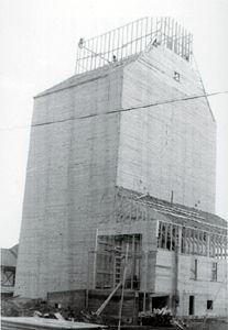 Grain Elevator in Construction